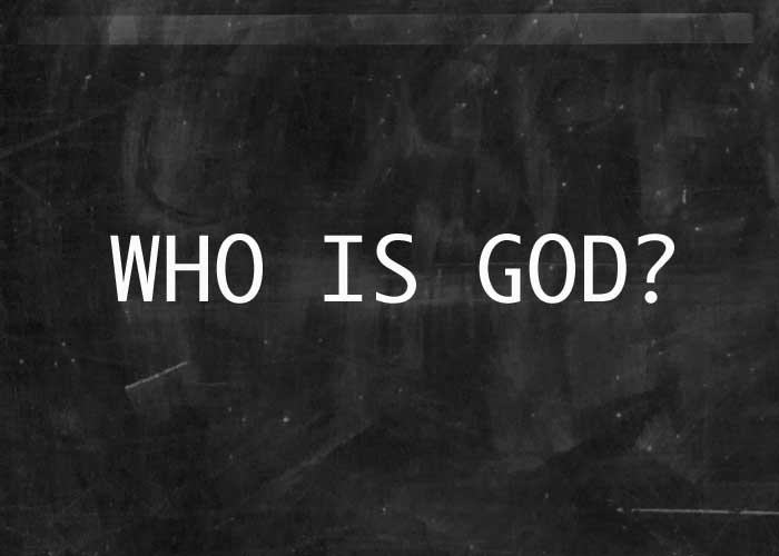 five answers to the question of who is god Bible contradictions is the old testament a book of god's wrath and the new testament a book of god's love answers to criticisms.